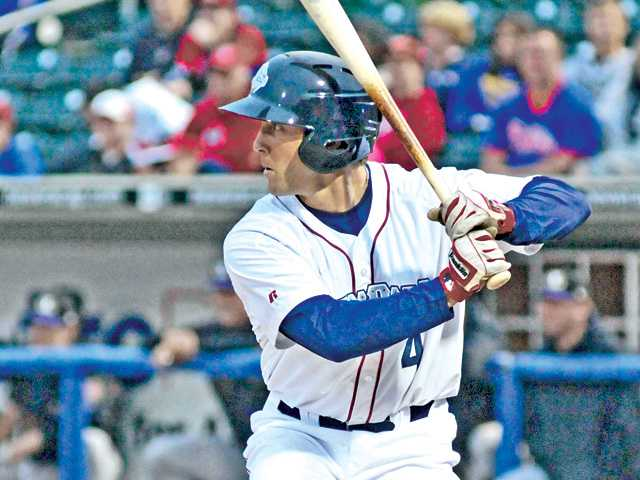Hart grad Steve Susdorf was promoted to Triple-A Lehigh Valley in May.