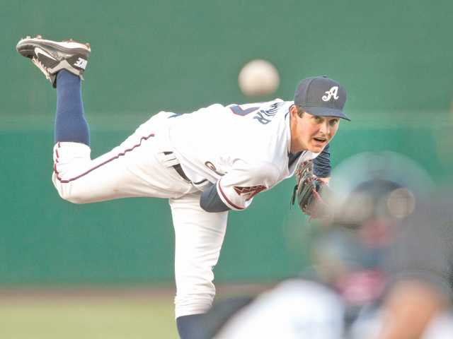 Hart graduate and Reno Aces pitcher Trevor Bauer has already risen to Triple-A in less than a year of professional experience.