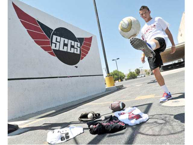 Santa Clarita Christian School senior Chad Latch was an All-CIF-Southern Section Division VII soccer player this year.