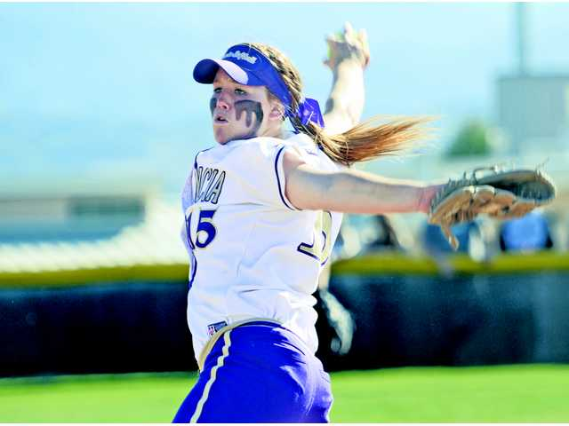 Valencia's Carly Mortensen's 1.17 ERA and 315 strikeouts earned her a spot, along with Hart's Tracy Chandless, on the All-CIF-Southern Section Division.