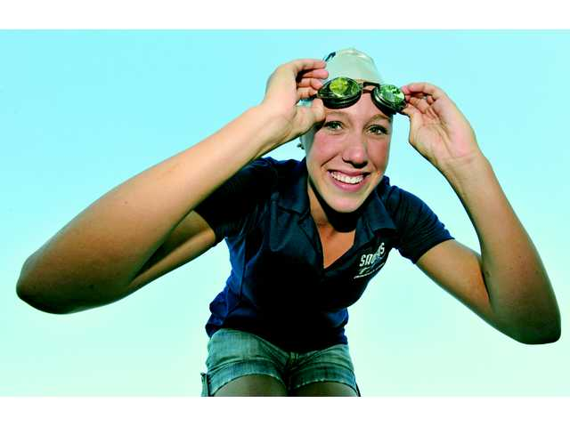 2012 All-SCV Girls Swim: Abbey Weitzeil, Living up to the hype