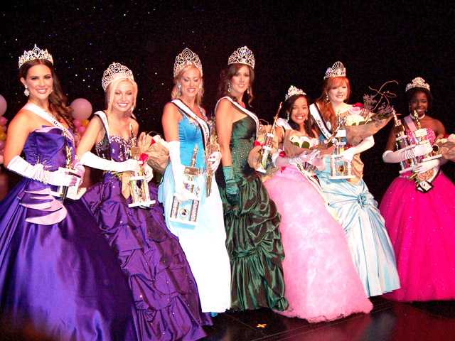 Winners crowned for Miss SCV pageant