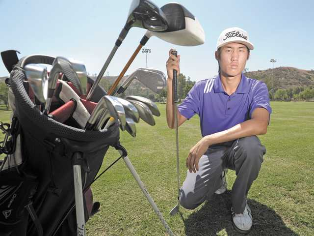 Valencia senior golfer Jonathan Chang was a medalist in four of six Foothill League matches this year.