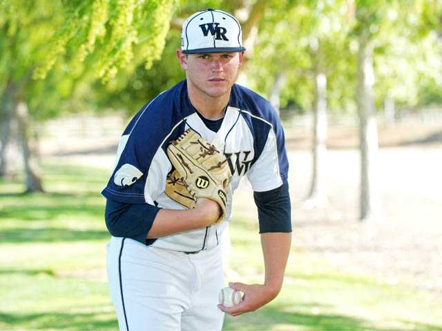 West Ranch's J.C. Cloney was an all-around great player, contributing heavily as a pitcher, a hitter and a fielder. He was undefeated as a pitching in Foothill League play.