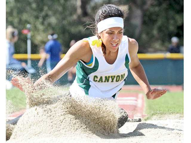 Recent Canyon High graduate Tiffini Stone attracted the attention of UC Riverside with a strong performance at the CIF-Southern Section finals in Walnut last month.