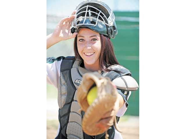 Senior Canyon softball player Courtney Ziese.