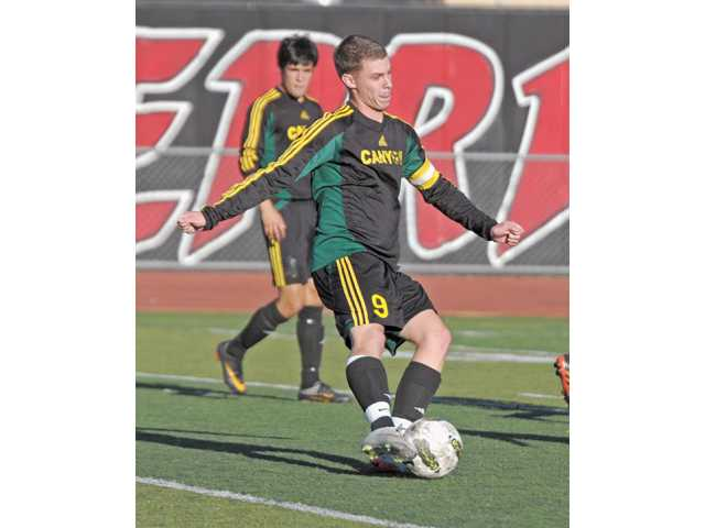 Canyon senior boys soccer player A.J. Rochow.