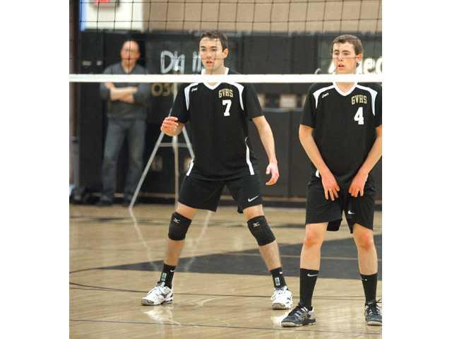 Golden Valley senior boys volleyball player Alec Schlossman.