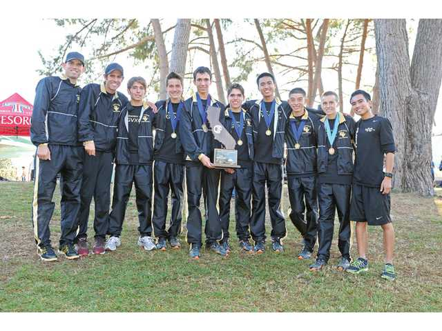 The 2011 CIF State Division II Cross Country Champion Golden Valley Grizzlies.