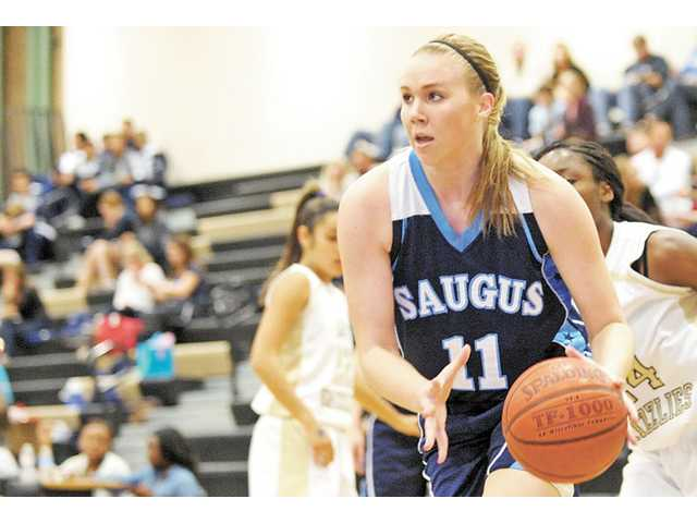 Saugus' Megan Dawe was named The Signal's 2011-12 Girls Basketball Player of the Year.