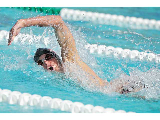 Hart swimmer and The Signal's All-Santa Clarita Valley Boys Swimmer of the Year Matt Johnson.