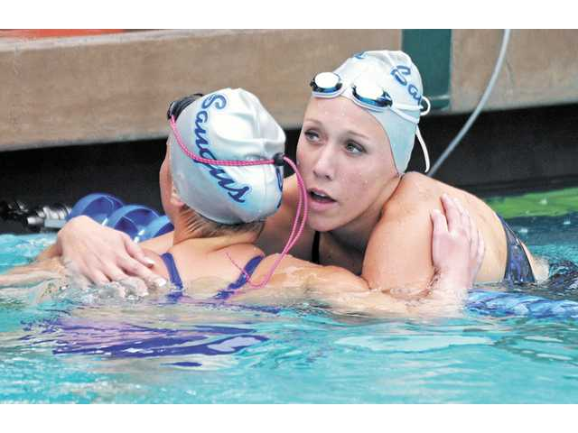 Saugus swimmer Abbey Weitzeil was named the school's co-Female Athlete of the Year for 2011-12.