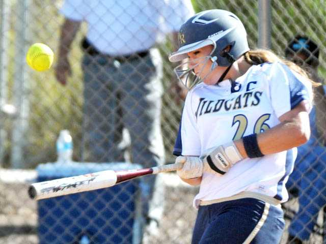 West Ranch softball player Janelle Lindvall is the school's 2011-12 Female Athlete of the Year.
