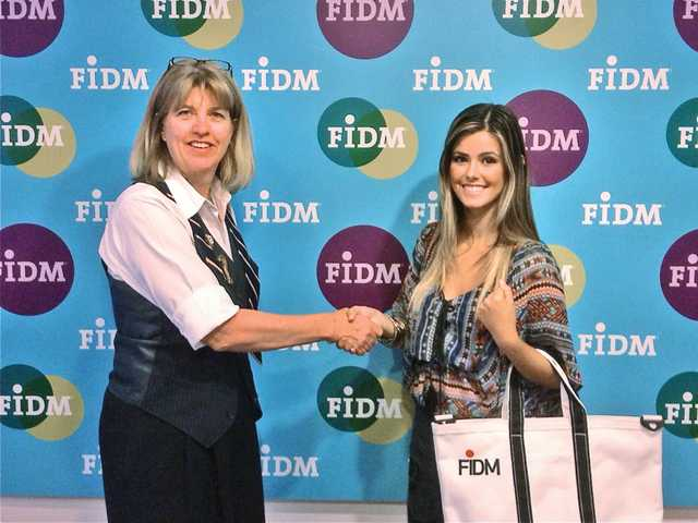 Kelsie Leach earns FIDM ride