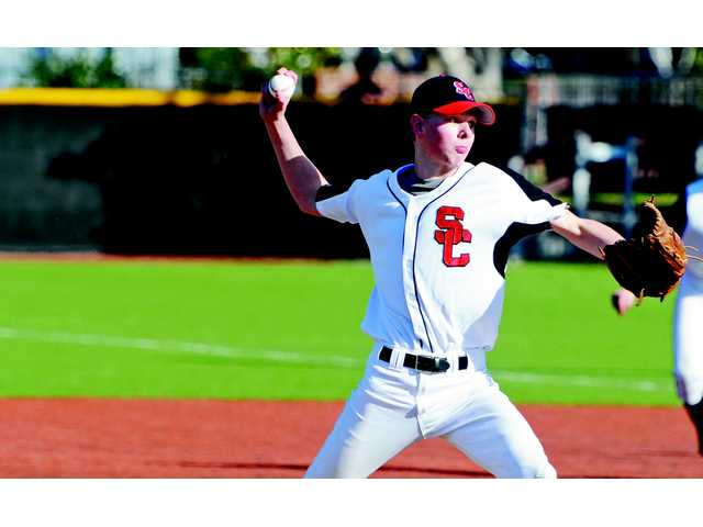 Senior pitcher Ryan Fullarton was a rock on the mound this season for the Santa Clarita Christian baseball team.