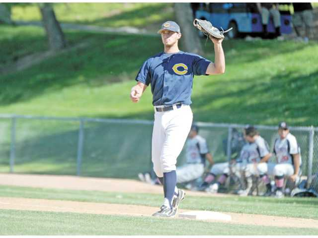 College of the Canyons baseball player Jake Jelmini.