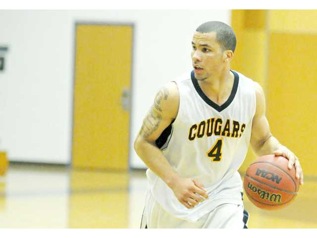 College of the Canyons basketball player Rafael Love.