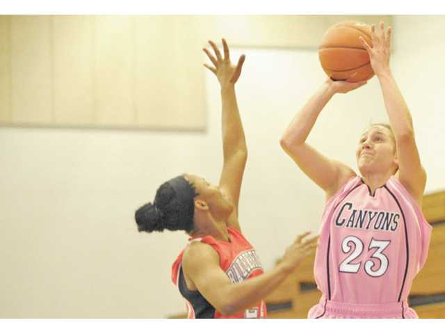 College of the Canyons basketball player Angelica Sahagun.