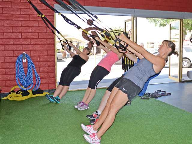 You might also perform an inverted row on the TRX.