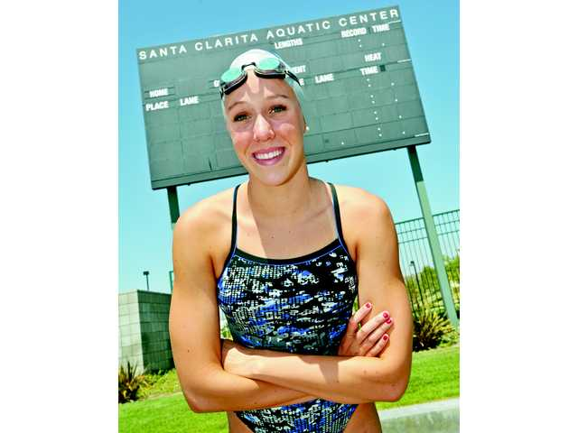 Saugus' Abbey Weitzeil set nine Saugus High records (including relays) and four Foothill League records.