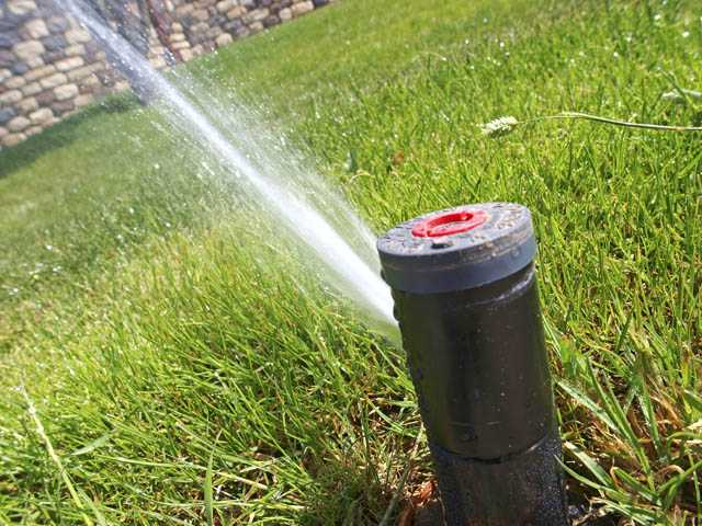 Properly placed and properly adjusted sprinklers provide the right amount of water to landscaping without overspray or runoff. You need to make a visual inspection of your sprinklers and watch them during operation to be sure everything is in order.