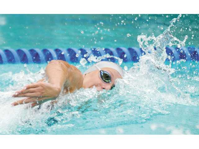 Saugus swimmer Abbey Weitzeil won two individual CIF titles this season.