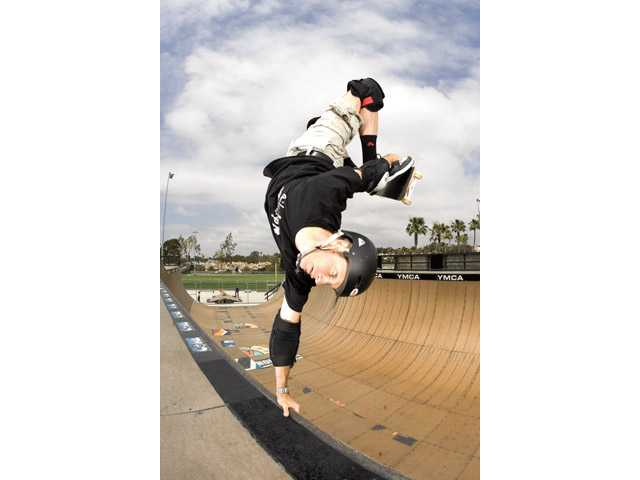 Professional skateboarder Tony Hawk will be at the Santa Clarita Skatepark on Saturday.