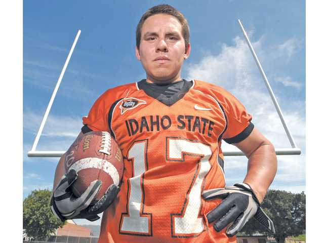 Idaho State's C.J. Reyes will be the team's starting punter this season, and may also play at slot receiver.