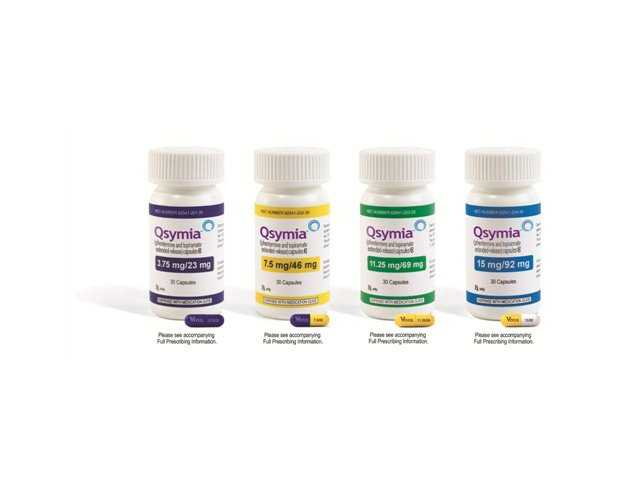 This product image provided by Vivus Pharmaceuticals Inc. shows bottles of Qsymia, the company's anti-obesity drug.