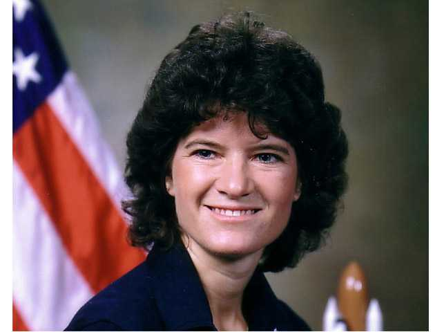 This undated photo released by NASA shows astronaut Sally Ride. Ride, the first American woman in space, died Monday.