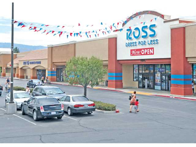 Customers walk to the Ross Dress for Less store on Soledad Canyon and Whites Canyon roads on Wednesday, July 18. The store — Ross' third location in the SCV — opened on July 14.