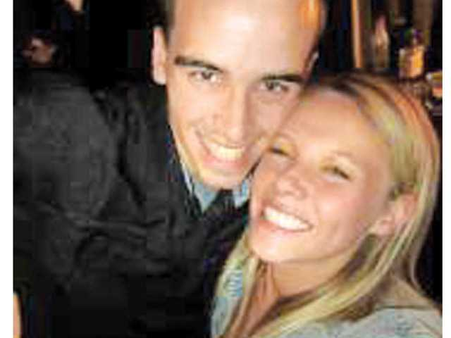 Former West Ranch student Nikki Richter, right, died of heat exhaustion in the Arizona desert while hiking with her boyfriend Korey Stapp, left. Photo from Facebook.com.