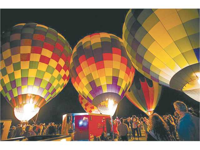 The Friday Evening Balloon Glow is always a highlight of the Citrus Classic Balloon Festival.
