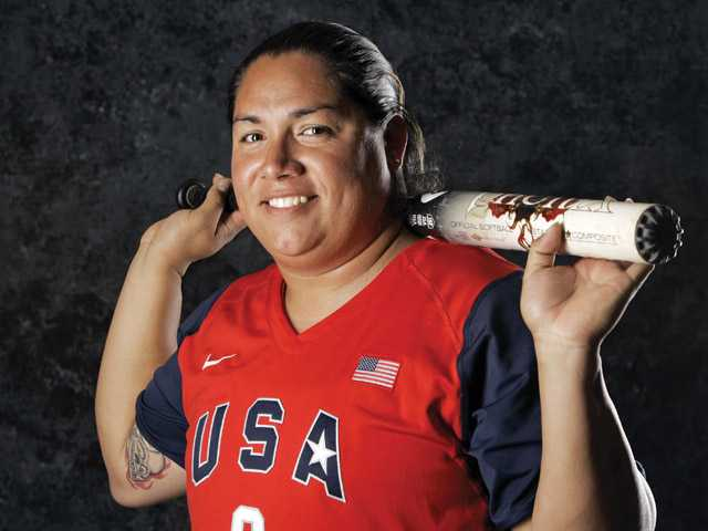 Canyon High graduate Crystl Bustos has two gold and one silver medal.