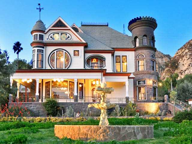 The Piru Mansion, a 11,500 square-foot home on 9.63 acres in Piru, was built between 1886 and 1890 among orchards of fruit trees on a hillside. It recently sold for $2.15 million.
