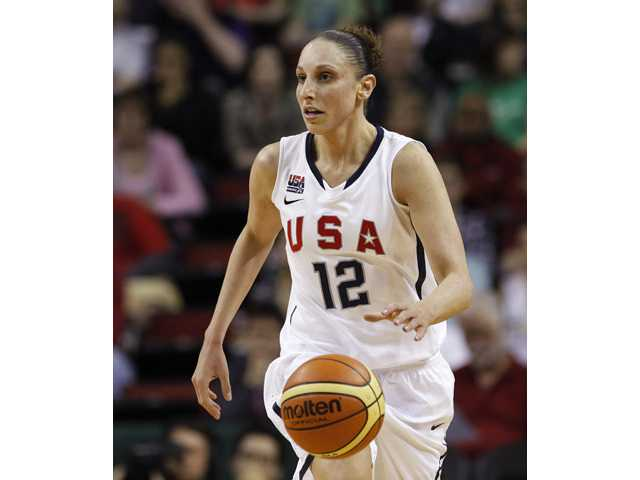 Diana Taurasi and the United States women's basketball team begin play Saturday against Croatia.