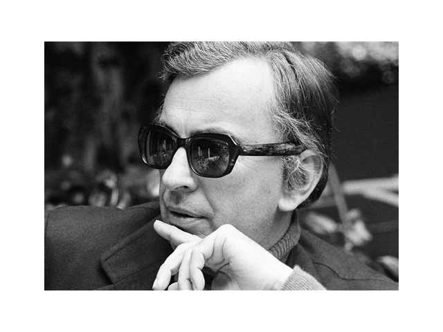 Author Gore Vidal tosses barbs in all directions as he discusses Hollywood unions, politics, lecturing and publicizing books during an interview in Los Angeles in 1974.