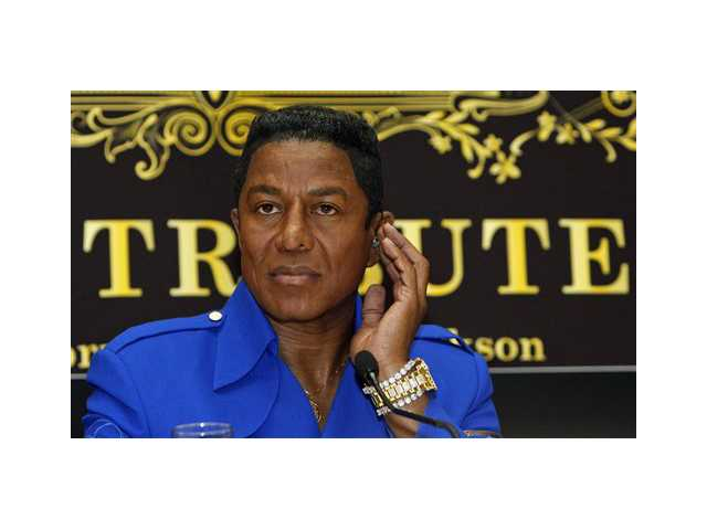 "Jermaine Jackson, brother of late U.S. ""King of Pop"" Michael Jackson, is seen during a news conference in Vienna, Austria."