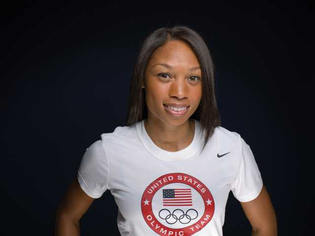 Local Olympians: Santa Clarita Valley resident Allyson Felix to compete in 100-meter semis