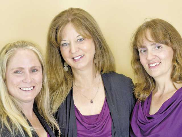 From left, teacher Marni Morse, owner Sue Cowling and Executive Director Elmarie Hyman.