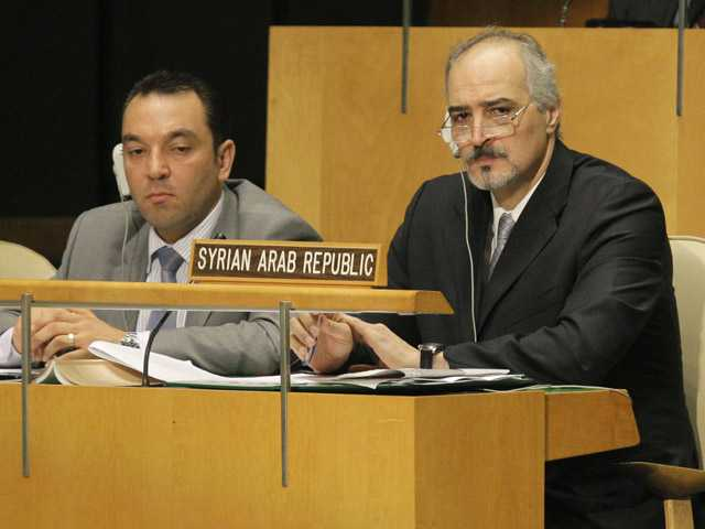 UN General Assembly denounces Syrian crackdown