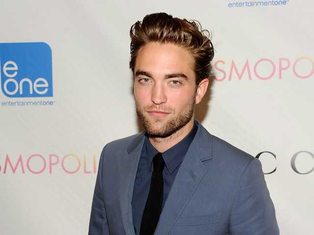 "Actor Robert Pattinson attends the premiere of ""Cosmopolis"" at the Museum of Modern Art on Monday in New York."