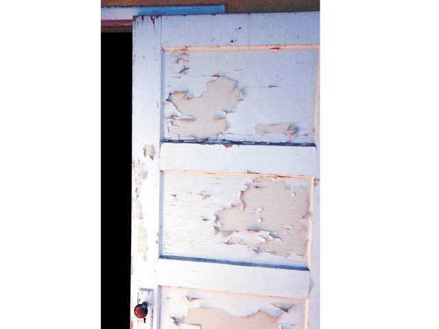 Caulk surfaces after old paint has been removed for the smoothest, professional look.