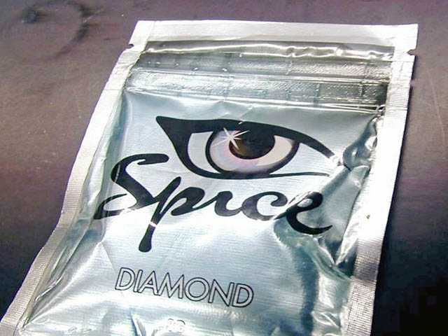 "These photos provided by the U.S. Drug Enforcement Agency show the drug known as ""spice."""