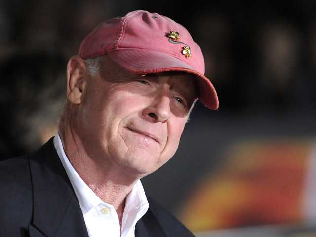 "In this Oct. 26, 2010 file photo, director Tony Scott arrives at the premiere of ""Unstoppable"" in Los Angeles."
