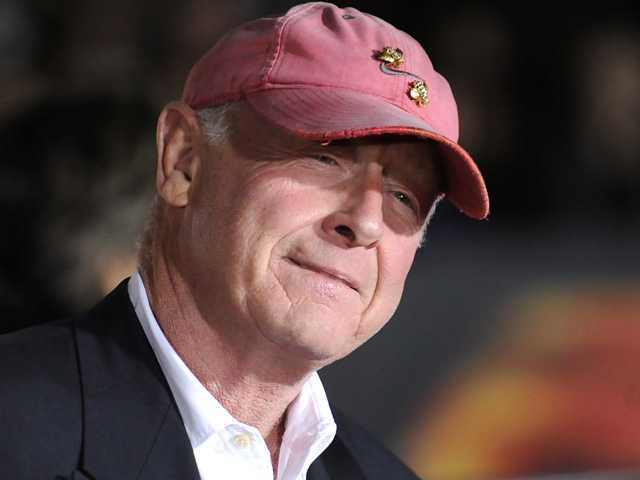 "In this Oct. 26, 2010 file photo, director Tony Scott arrives at the premiere of ""Unstoppable"" in Los Angeles. Authorities say Scott died after jumping of a bridge in Los Angeles on Sunday."