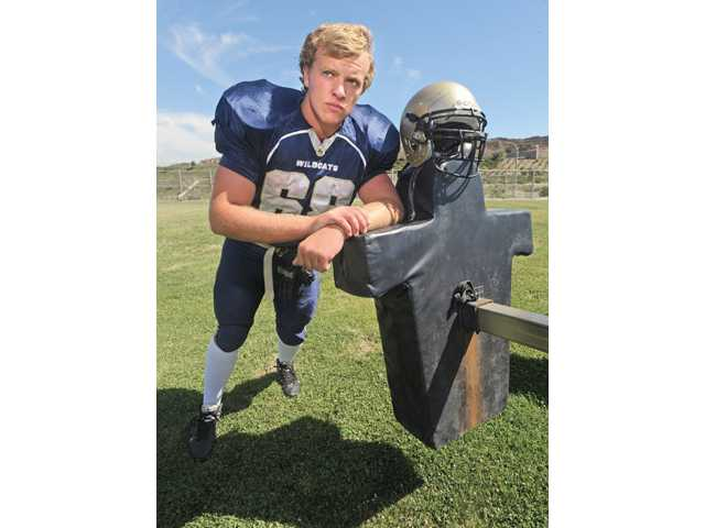 West Ranch's Jake Lambirth: The separation line