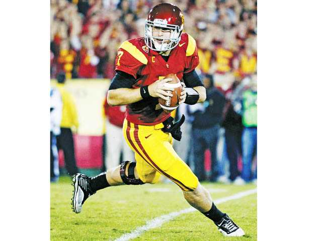 USC quarterback Matt Barkley is one of the leading candidates for the Heisman Trophy in 2012.