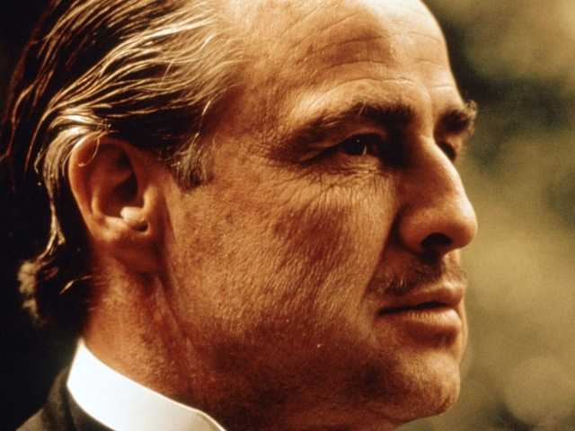 In this file photo provided by paramount Pictures, Marlon Brando is shown in a scene from Paramount Pictures' The Godfather. A dispute over the franchise is headed to federal court.