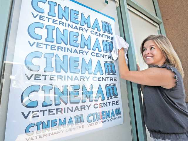 Dr. Jaimie Ronchetto will open her own clinic, called Cinema Veterinary Centre, later this month in Valencia.